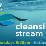 This is a poster for the Cleansing Stream event at The Hope Center Yuma